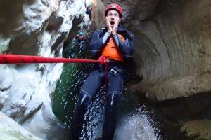 canyon lago di garda
